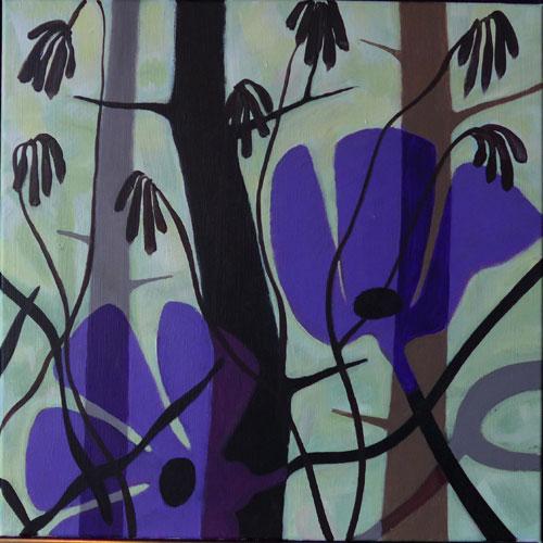 Violet-blomst